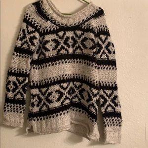Plush winter sweater
